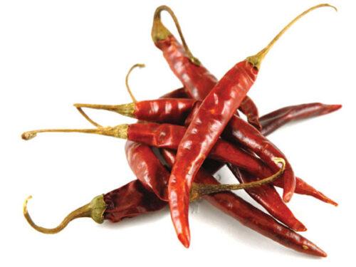 Kuivatatud chili
